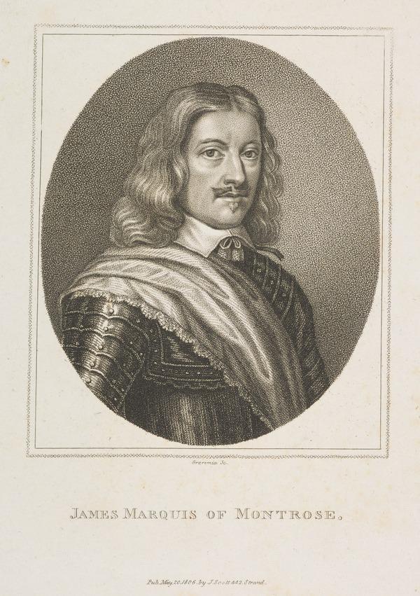 James Graham, 1st Marquess of Montrose, 1612 - 1650. Royalist (Published 1806)