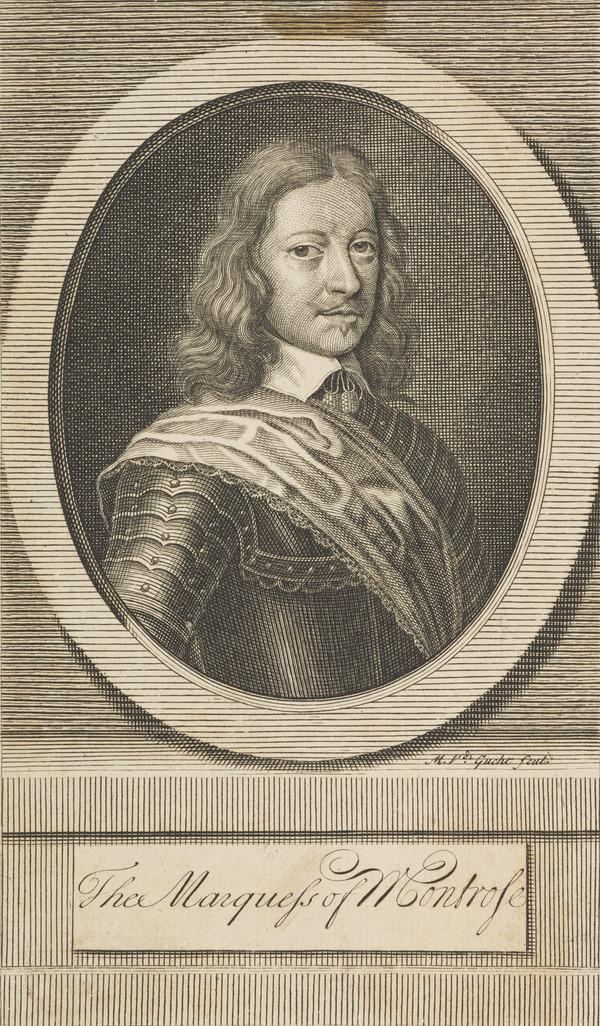 James Graham, 1st Marquess of Montrose, 1612 - 1650. Royalist (Published 1713)