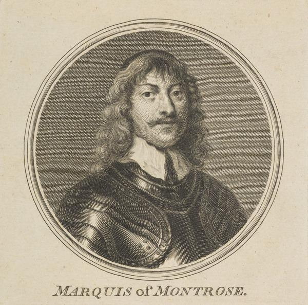 James Graham, 1st Marquess of Montrose, 1612 - 1650. Royalist (Published 1757)