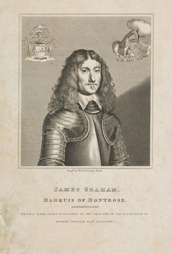 James Graham, 1st Marquess of Montrose, 1612 - 1650. Royalist (Published 1819)