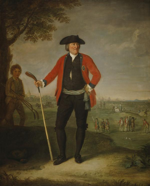 William Inglis, c 1712 - 1792. Surgeon and Captain of the Honourable Company of Edinburgh Golfers (1787)