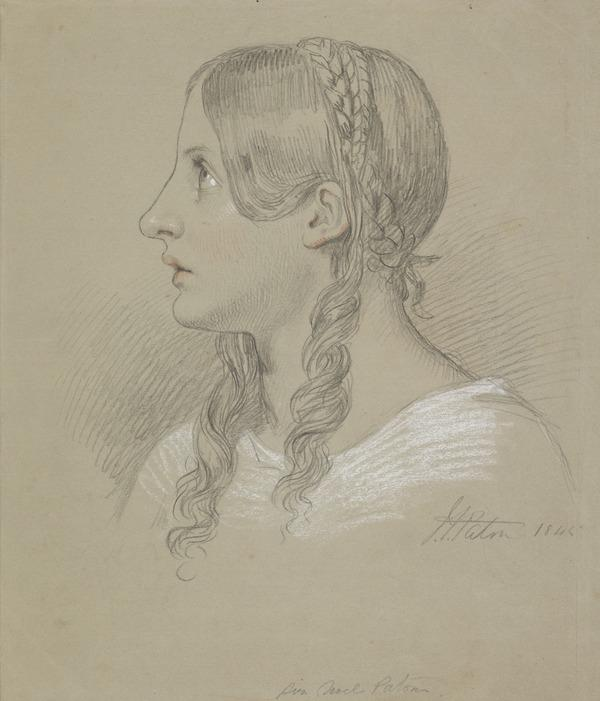 The Head of a Girl (1845)