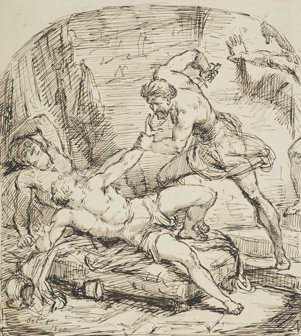 A Murder (Dated October 8, 1842)