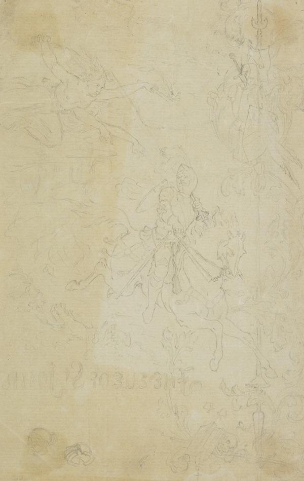Design for the Title Page of 'The Eve of Saint John'