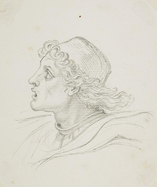 The Head of a Youth in Renaissance Costume