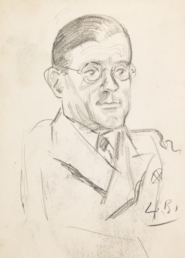 Sketch of a man (Executed early / mid 1930s)