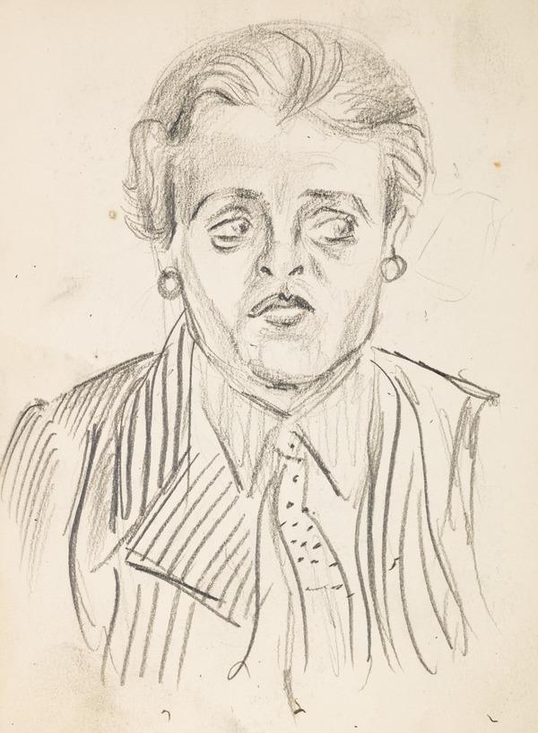 Sketch of woman (Executed early / mid 1930s)