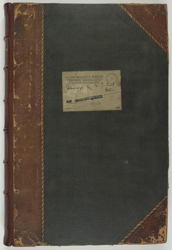 Album containing Early Sketches and Studies (Dated between 1835 and 1856)