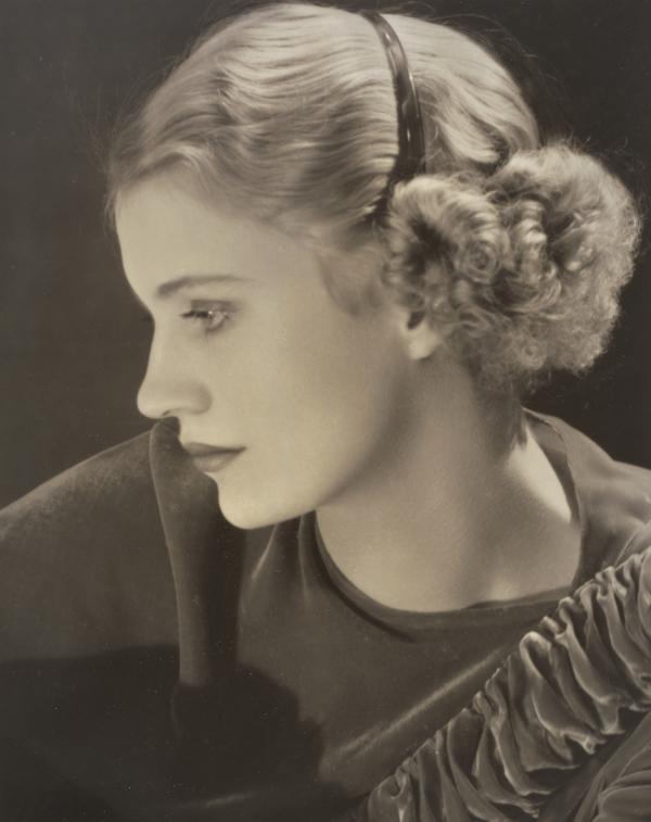 Self Portrait with headband, New York Studio, USA