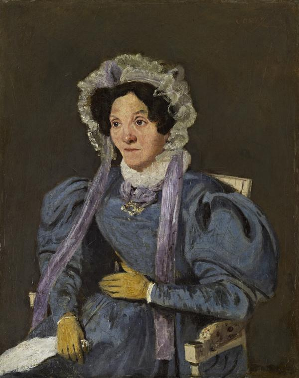 The Artist's Mother (Marie Françoise Oberson, 1769 - 1851) (About 1835 - 1840)