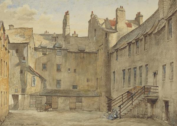 The Old Mint, Edinburgh (Dated July 1854)