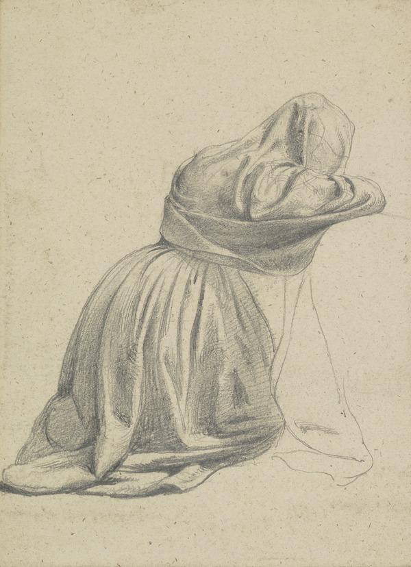 Study of a Kneeling Woman