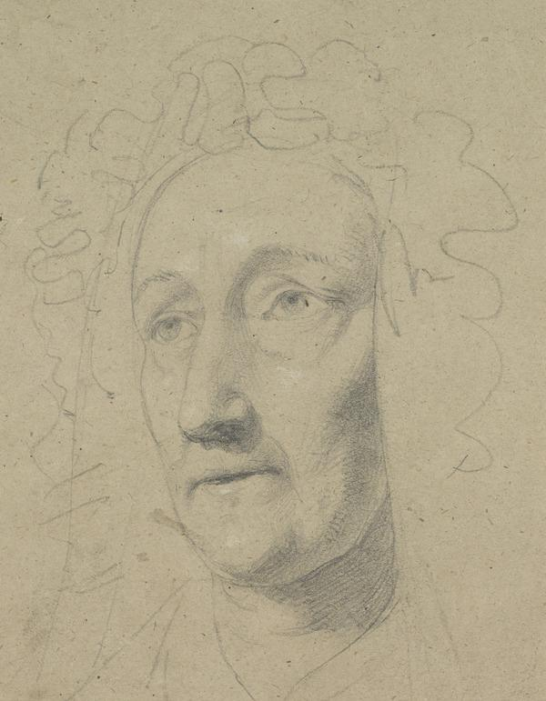 Study of an Old Woman in a Frilled Bonnet