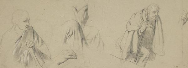 Studies of a Seated Figure