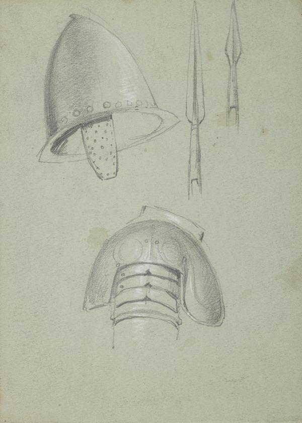 Arms and Armour. Study for the Painting 'James Graham, 1st Marquis of Montrose'