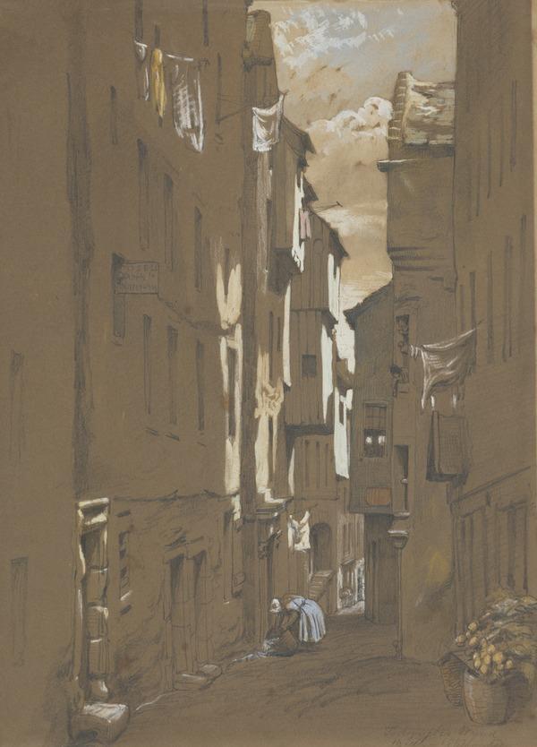 Todericks Wynd, Edinburgh (1852)