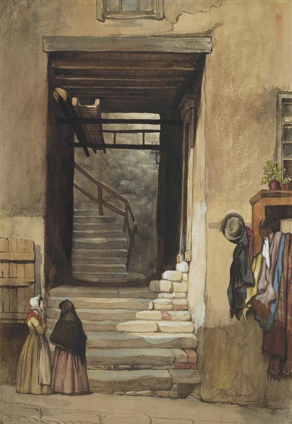 The Pleasance, Edinburgh (Dated July 1853)