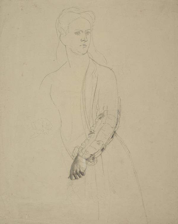 Study for the Painting 'The Return of Mary Queen of Scots to Edinburgh'