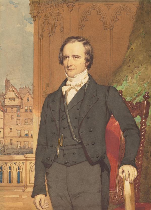 Rev. Thomas Guthrie, 1803 - 1873. Preacher and philanthropist