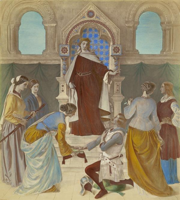 Piety and Faith: the vision of Sir Galahad and his companions