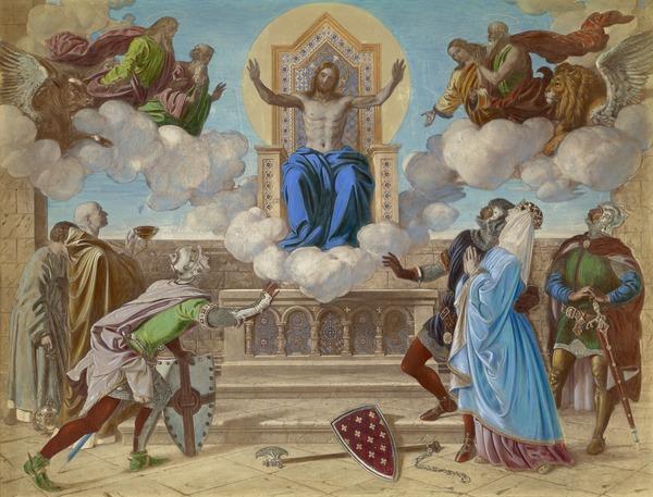 Mercy: Sir Gawaine Swearing to be Merciful