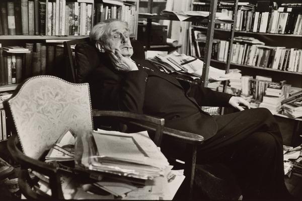 Christopher Murray Grieve (nom de plume, 'Hugh MacDiarmid'), 1892 - 1978. Poet. From the series 'The Seven Poets' (1978)
