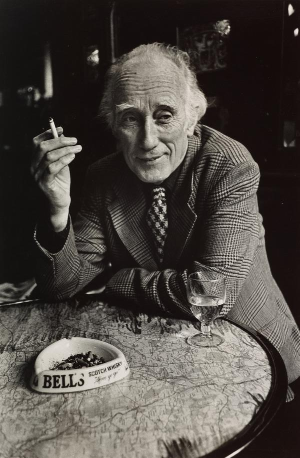 Norman MacCaig, 1910 - 1996. Poet. (From the series 'The Seven Poets') (1980)