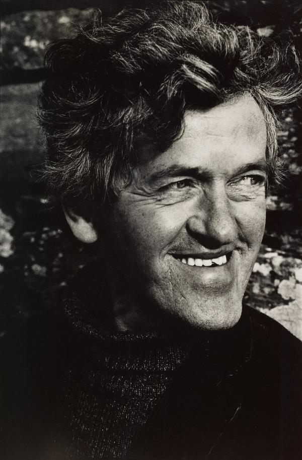 George Mackay Brown, 1921 - 1996. Poet. (from the series 'The Seven Poets') (1980)