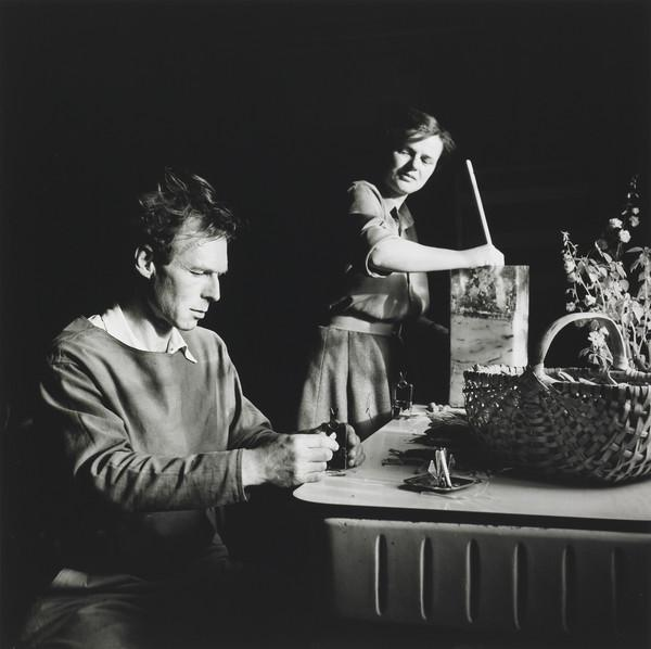 Reg and Jo Butler, Farley Farm, 1952 (1952)