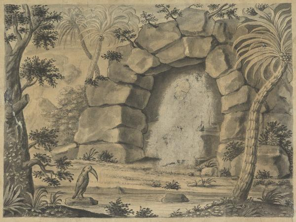 Tropical Landscape (Estimated earliest year: 1721)