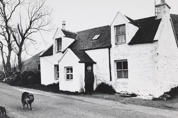Dog and Crofter, Skye