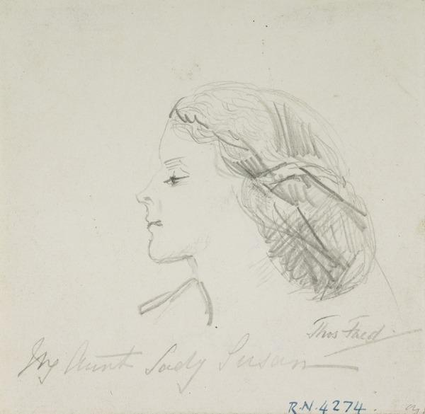 Sketch of a Lady's Head