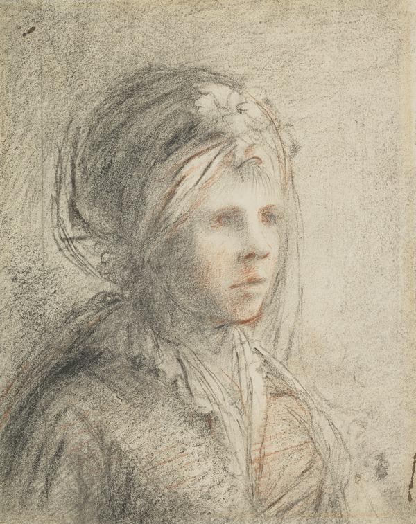 Study for a Lady's Portrait (possibly Agnes Geddes, the Artist's Mother)