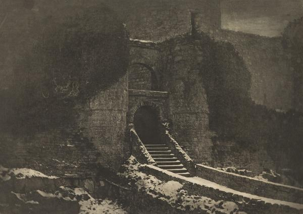 Entrance to Harlech Castle