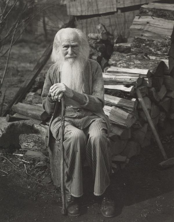 'My father at Ninety' Isaac Burns Cunningham (1936 (printed 1981))