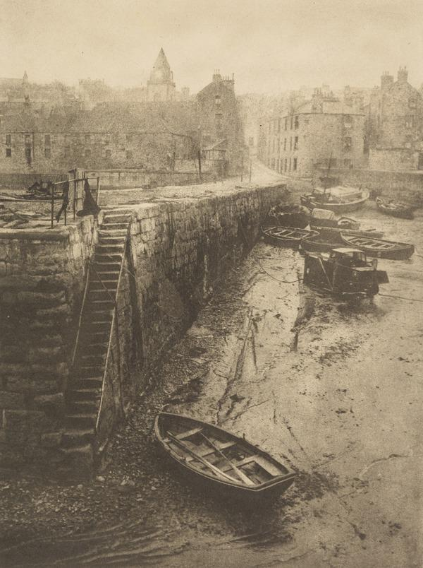 Old Pier, Queensferry (About 1920)