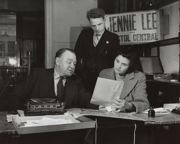 Jennie Lee, Independent Socialist Candidate, Bristol Central By-election (1943)