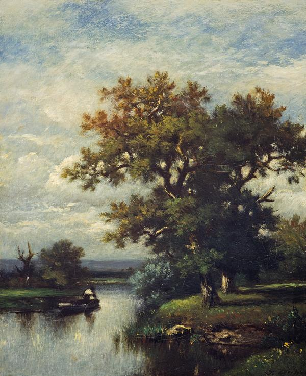 A Fisherman (1865 - 1870)
