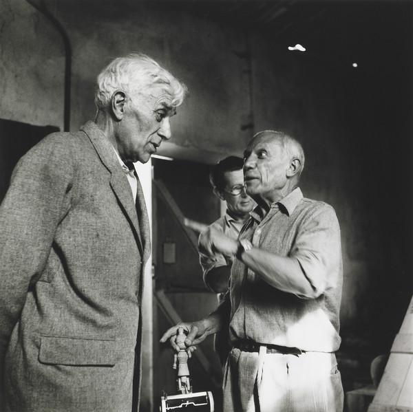 Georges Braque and Pablo Picasso, Vallaruris, 1954 (1954)
