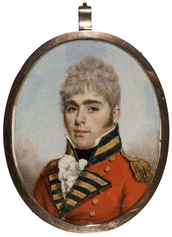 Colonel William Marshall, 1780 - 1870. Soldier (1806)