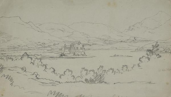 Loch Awe and Kilchurn Castle, Argyllshire