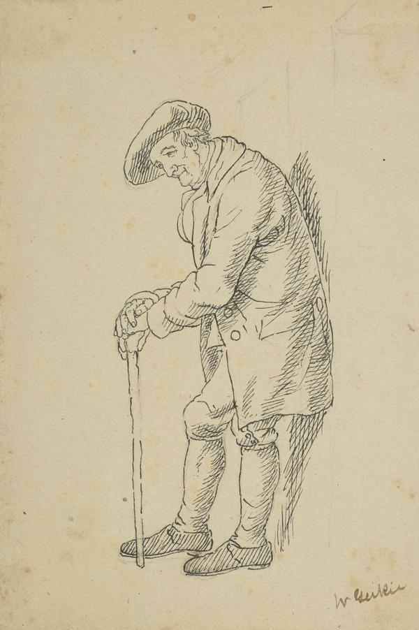 A Man with a Stick (Estimated earliest year: 1810)