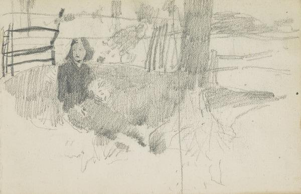 Study for Daydream (About 1885)