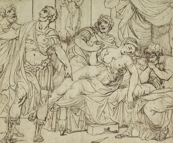 Brutus Promising to Avenge Lucretia's Death (Estimated earliest year: 1738)