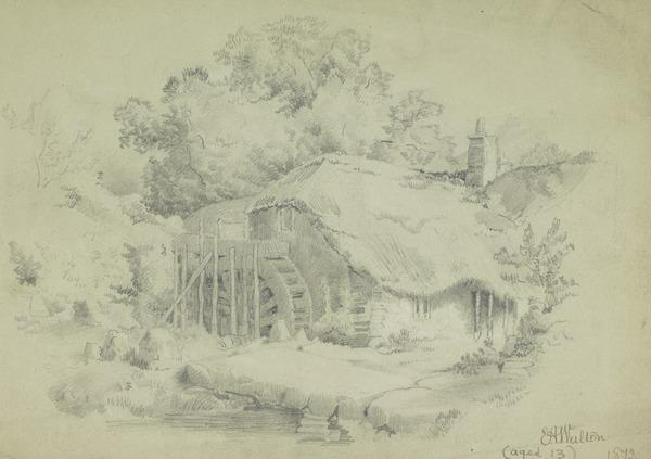 Watermill (Dated 1873)