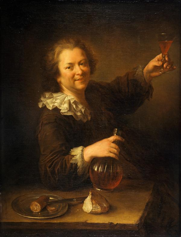 Self-portrait as a Drinker ('The Toper')