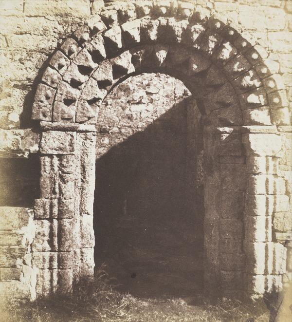 St Oran's chapel, Iona (1 September 1856)