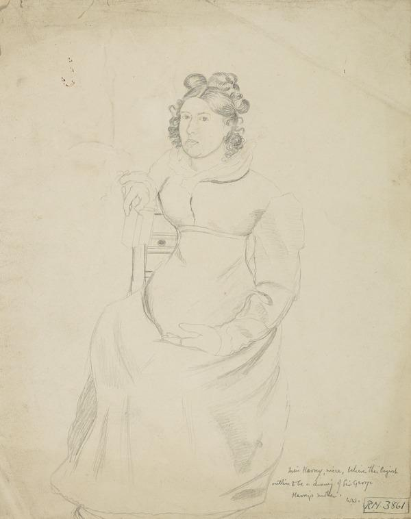 Mrs Harvey, the Artist's Mother