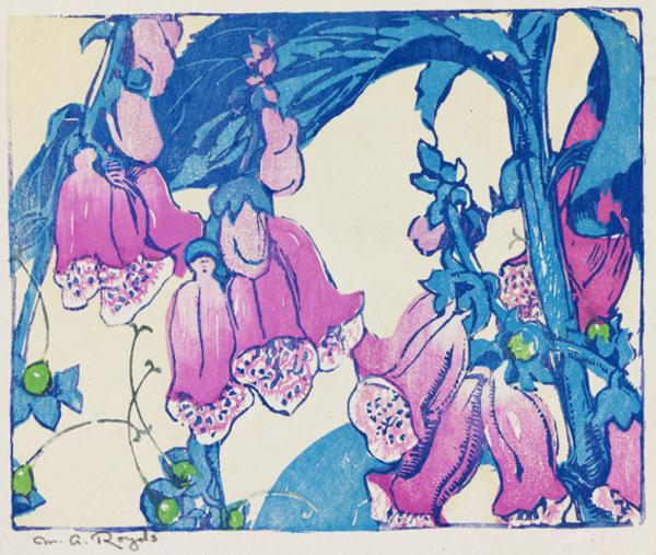 Foxgloves (About 1934)