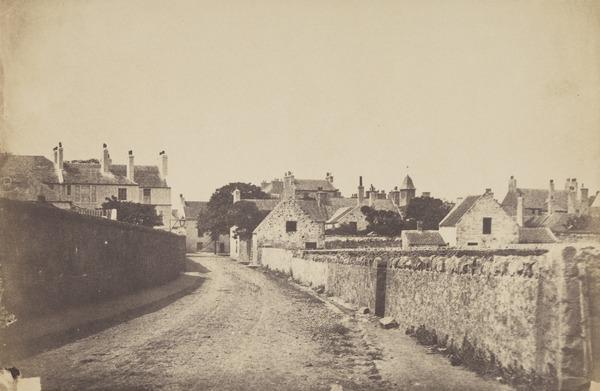 Village (in Fife ?)